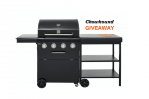 Chowhound & Kenmore – Summer Grill Giveaway – Win one Kenmore 4-burner grill with side card