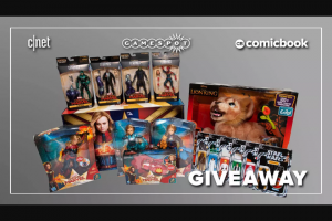 CNET – Gamespot Comicbook Sdcc 2019 Sweepstakes