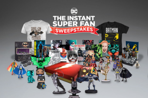DC Entertainment – The Instant Super Fan Sweepstakes