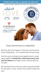 Family Talk Today – Stronger Forever Giveaway Sweepstakes