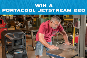 Fastenal – portacool July 2019 Giveaway – Win of one Portacool Jetstream 220.