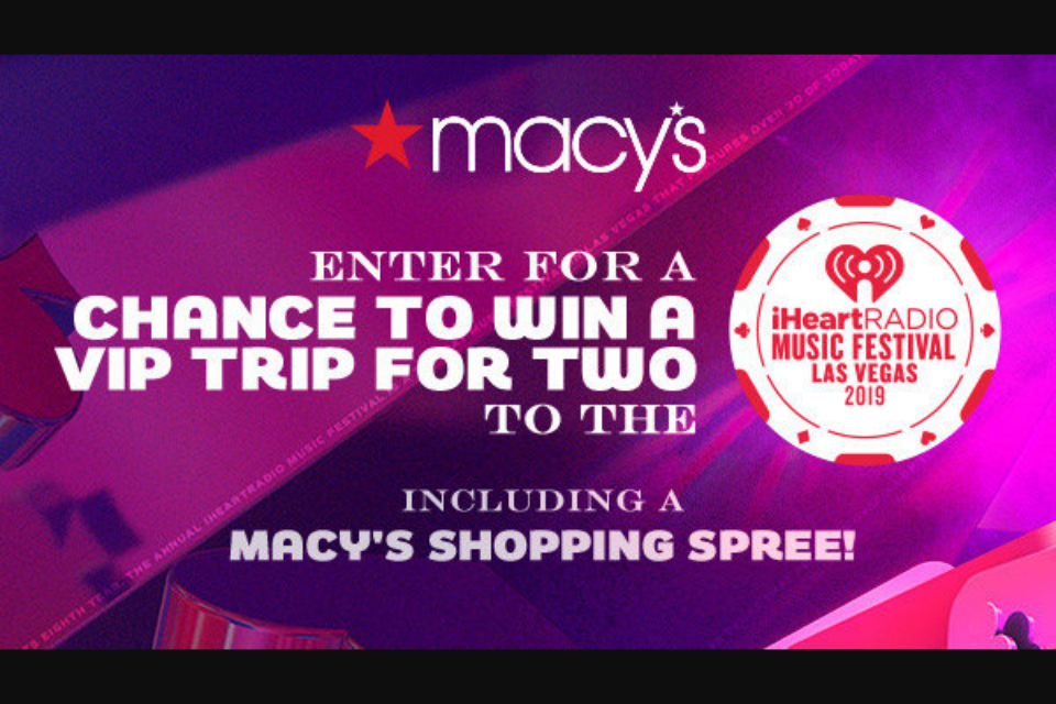 Iheart Media – Macy's Iheartradio Music Festival Sweep