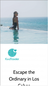 Kindtraveller – Escape The Ordinary In Los Cabos Sweepstakes