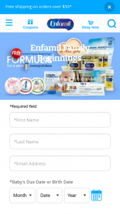 Mead Johnson & Company – Enfamil Family Beginnings Formula For A Year – Win awarded each month during the  Period as outlined in Section 5.