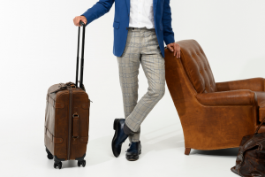 Moore & Giles – Summer Get-A-Way Giveaway – Win includes a Parker suitcase and wash kit an Alton Lane blazer shirt trouser pocket square and pair of shoes
