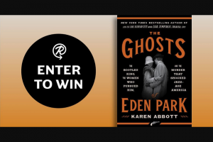 Penguin Random House – The Ghosts Of Eden Park – Win a copy of The Ghosts of Eden Park by Karen Abbott