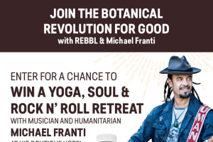 Rebbl – Join The Botanical Revolution For Good – Win a REBBL Swag Pack consisting of REBBL wearables
