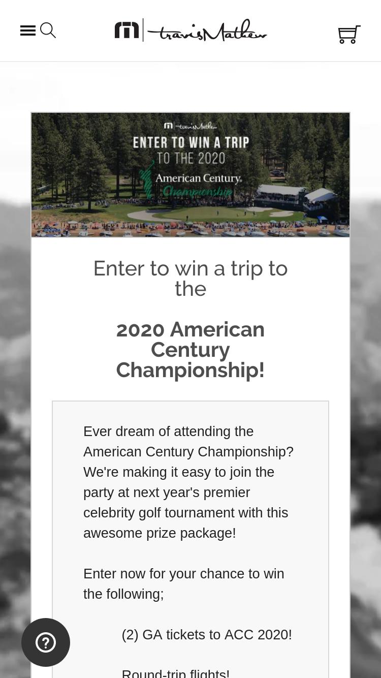Travismathew – 2020 American Century Championship Giveaway S