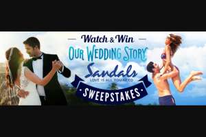 Uptv – Our Wedding Story Watch & Win Sweepstakes