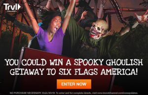 Travel Channel – Win a ghoulish getaway to experience Fright Fest at Six Flags America in Washington