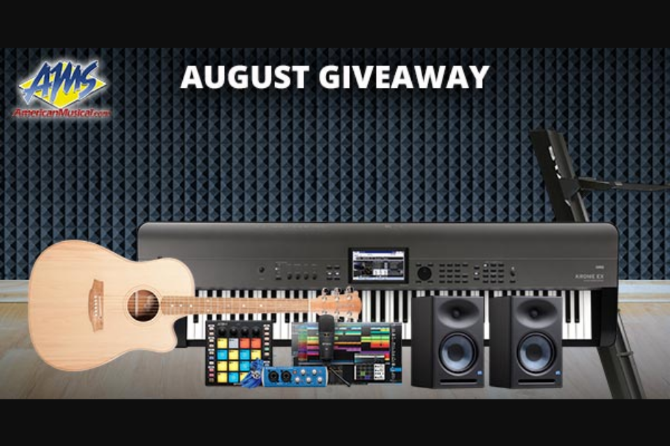 American Musical Supply – Home Recording Studio Giveaway Swe