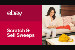 Ebay – Scratch & Sell Sweepstakes