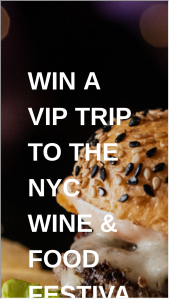 Food Network & Cooking Channel – New York City Wine & Food Festival Sweepstakes