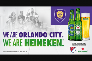 Heineken – Soccer  – Win One (1) grand prize will be awarded