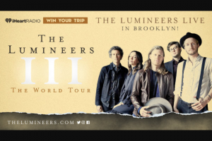 Iheart – The Lumineers Sweepstakes