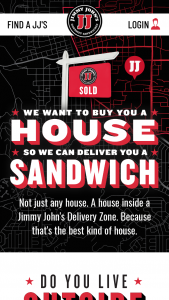 Jimmy John's – Home In The Zone Contest – Limited Entry Sweepstakes