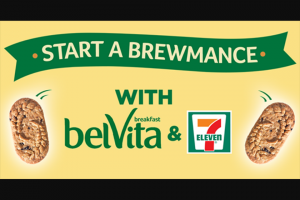 Mondelez Global – Start A Brewmance With Belvita Sweepstakes