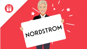Ellen Tube – Win a $300 Nordstrom Gift Card