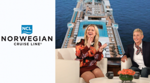 Ellen Tube – Win a 7-day night cruise with Norwegian Encore