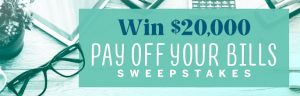 Meredith – Win $20,000 to Pay Off Your Bills