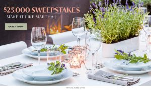 Meredith – Win a $25,000 check