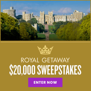 Meredith – Win a Royal Getaway valued at $20,000