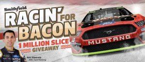 Smithfield – Racin' For Bacon – Win a share of 1 million slices of Bacon