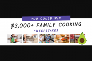 America's Test Kitchen – Family Cooking Sweepstakes