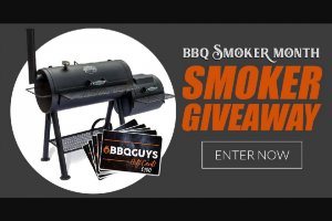Bbqguys – Bbq Smoker Giveaway – Win one Texas Original Pits Luling 40inch Offset Smoker- ID# 3060353 Model # SL-204020 ($1699.99 Value).