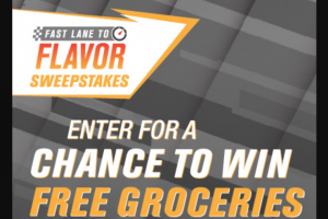 Brand Activation – Kroger Fast Lane To Flavor – Win a years' worth of groceries