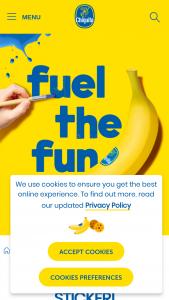 Chaquita – Fuel The Fun Campaign Contest – Win one (1) iPad Pro