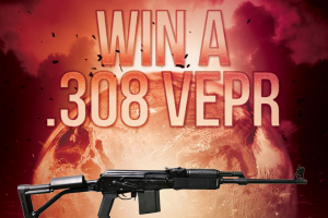 Classic Firearms – Russian Molot Vepr Rifle – Win Russian Molot VEPR Rifle The approximate retail value of the prize is USD $1900.