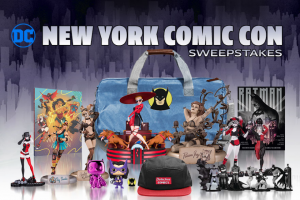 DC Entertainment – DC Nycc 2019 – Win the following One DC Collectibles Harley's Holiday Harley Quinn Statue