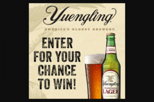 Dg Yuengling & Son – Tail-Greatly – Win The Ultimate Tailgate Package