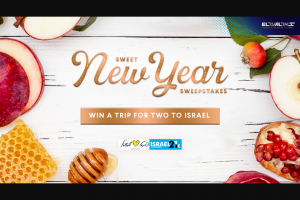 El Al Israel Airlines USA – Sweet New Year Sweepstakes