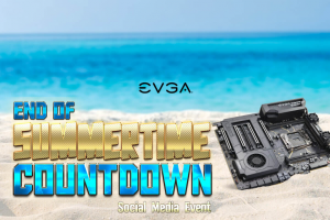 EVGA – End Of Summertime Countdown Social Media Event 2019 Sweepstakes