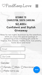 Findkeeplove – Confident And Stylish Giveaway Sweepstakes