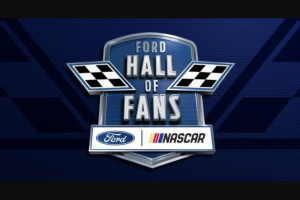 Ford – Hall Of Fans – Win Prize winner and one (1) guest to Miami Florida to attend the 2019 Ford Championship Weekend at Homestead-Miami Speedway (Homestead Florida).