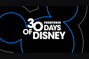 Freeform – 30 Days Of Disney Sweepstakes