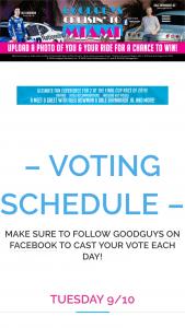 2019 Goodguys Cruisin' To Miami Contest – Vote For Carol Woehrle Sweepstakes