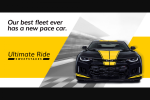 Hertz – Ultimate Ride Sweepstakes
