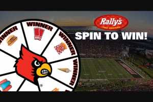 Louisville Rally's – Spin To Win Sweepstakes