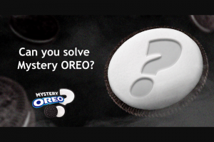 Mondelez Global – Oreo Mystery Flavor 2019 Sweepstakes