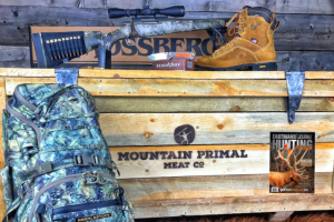 Mountain Primal Meat – Fall – Win A Mossberg Patriot 6.5 Creedmoor