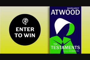 Penguin Random House – The Testaments – Win a hardcover copy of The Testaments and an audiobook copy of The Testaments