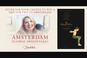 Premiere Networks Delilah – Amsterdam Flyaway – Win day/three night trip for the Winner and one guest to Amsterdam Netherlands ARV $5000.00).