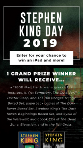 Simon & Schuster – Stephen King Day 2019 Sweepstakes