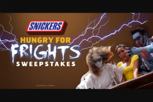 Six Flags – Snickers Hungry For Frights Sweepstakes