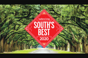 Southern Living – South's Best 2020 Survey Giveaway – Win $2500 (retail value $2500) Three (3) winners will each receive $500 (retail value $500 each).