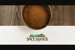 Spice Islands – Year Of Pumpkin Spice Giveaway Sweepstakes